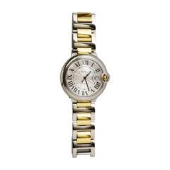 Superb Cartier Ballon Bleu Two Tone Watch Ref 3001