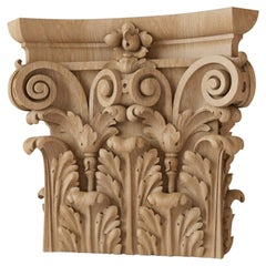 Superb Decorative Column Capital for Walls, Doors, Furniture, Interior