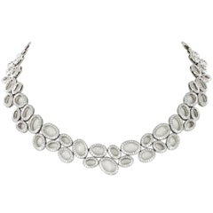 Superb Diamond Necklace in White Gold by Gübelin