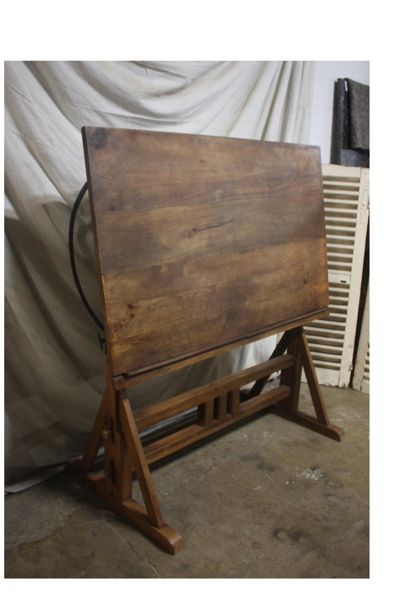 Superb Early 20th Century French Architected Table For Sale 6