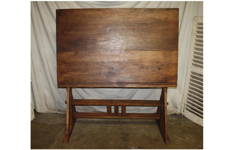 Superb Early 20th Century French Architected Table For Sale 7