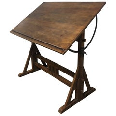 Superb Early 20th Century French Architected Table
