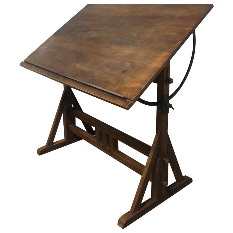 Superb Early 20th Century French Architected Table For Sale