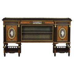Superb Exhibition Quality 19th Century English Coromandel Cabinet by Lamb of Man