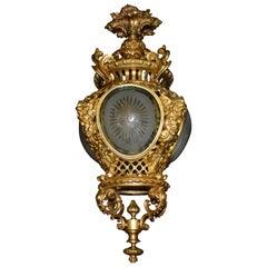Superb Gilt Bronze and Crystal Lantern, France, circa 1900