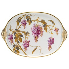 Superb Hand Painted Minton Porcelain Tray