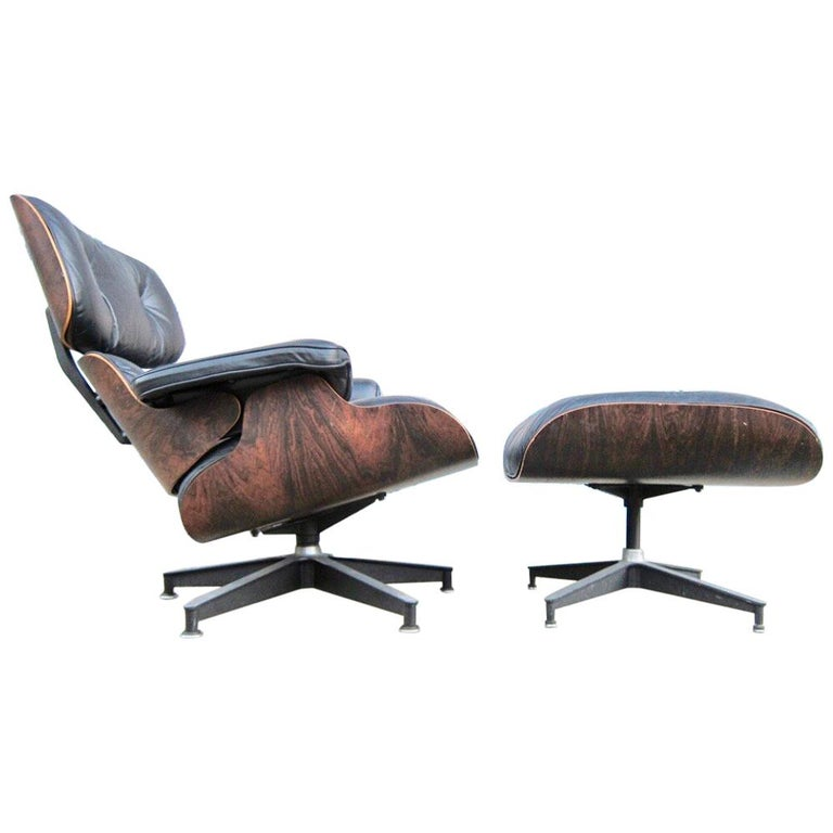 Superb Herman Miller Eames Lounge Chair And Ottoman For Sale At 1stdibs