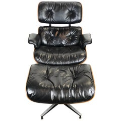 Superb Herman Miller Eames Lounge Chair and Ottoman