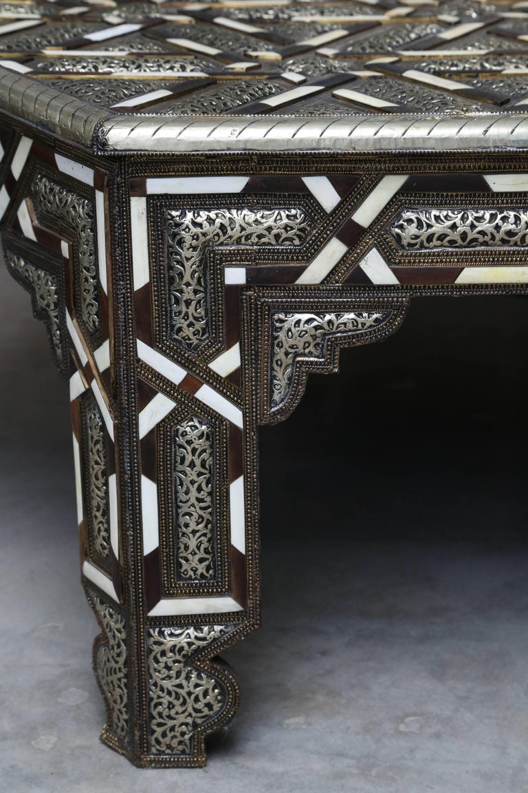 Superb Hexagonal Moroccan Coffee Table For Sale at 1stdibs