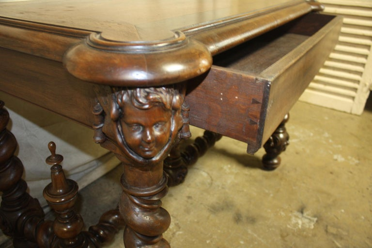 Superb Italian 18th Century Writing Table For Sale 9