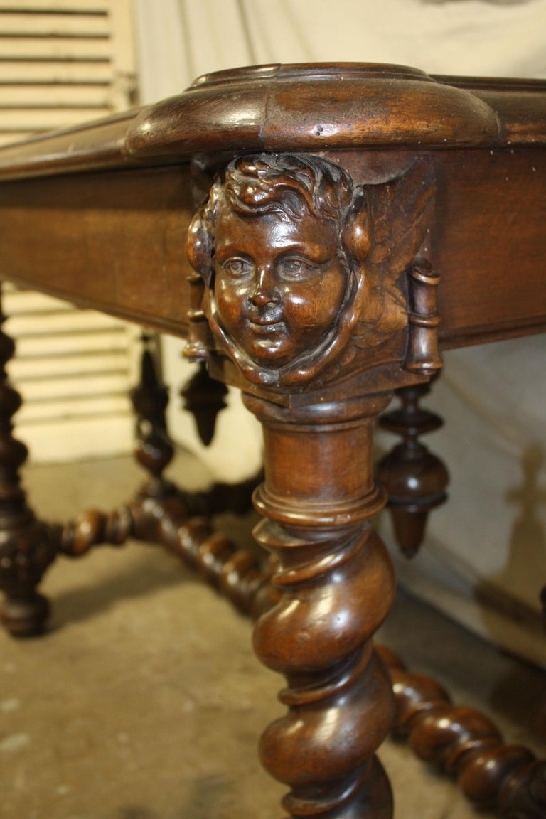 Superb Italian 18th Century Writing Table For Sale 10