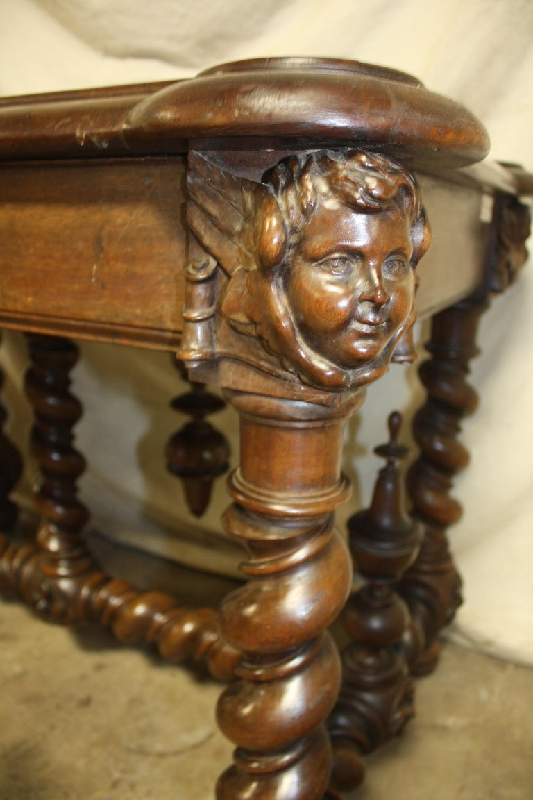 Superb Italian 18th Century Writing Table For Sale 12