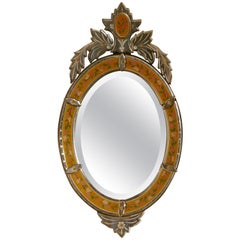 Superb Large Arts & Crafts Venetian Mirror