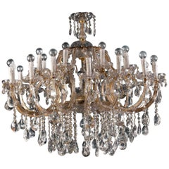 Superb Maria Theresa Crystal Chandelier