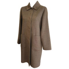 Superb Max Mara Hand Made Cashmere Coat Never Worn