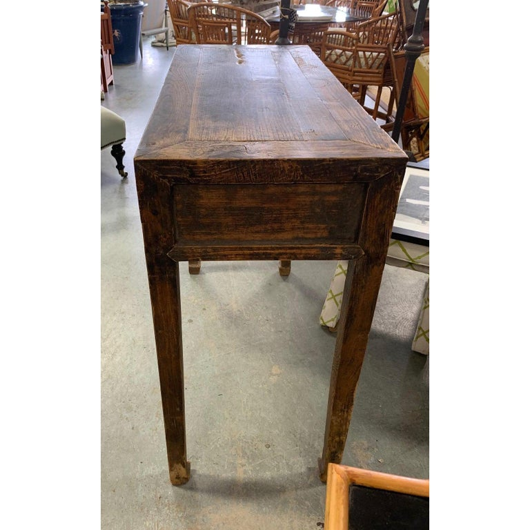 20th Century Superb Ming Style Console Table For Sale
