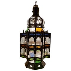 Superb Moroccan Rustic Lantern Chandelier