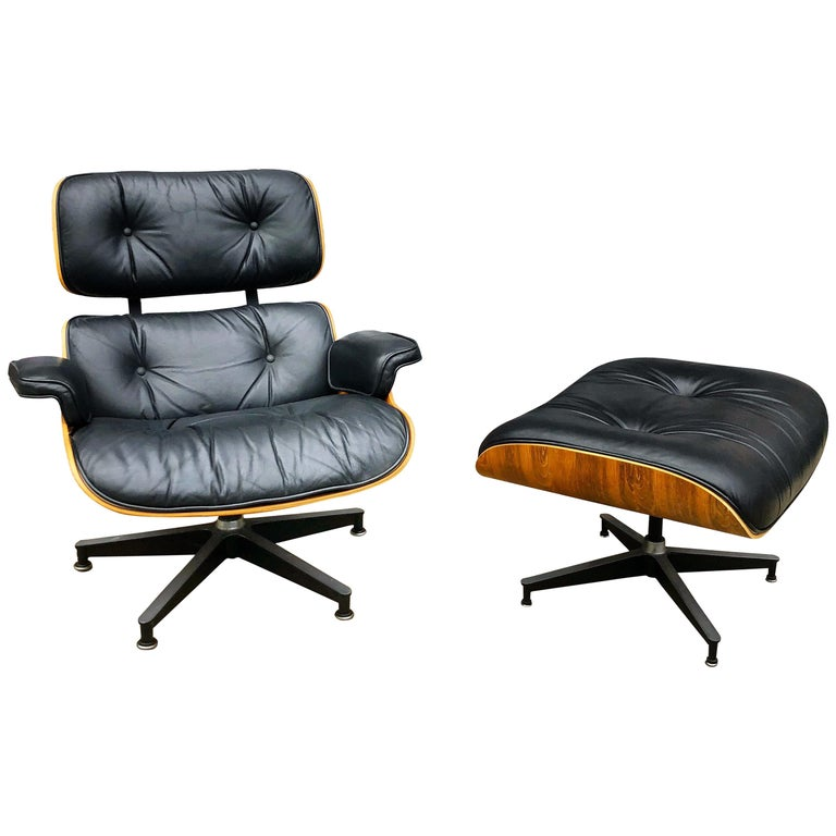 Sensational Superb Original Eames Lounge Chair And Ottoman For Sale At Dailytribune Chair Design For Home Dailytribuneorg