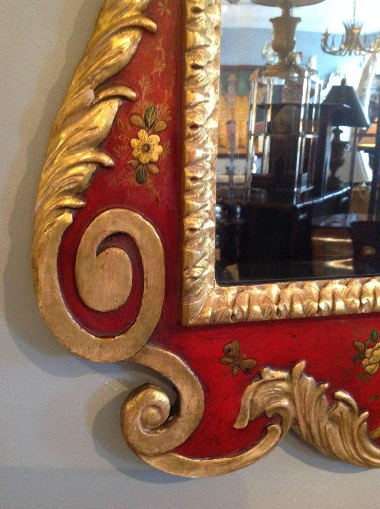 Superb Pair of 19th Century English Chinoiserie Mirrors For Sale 7