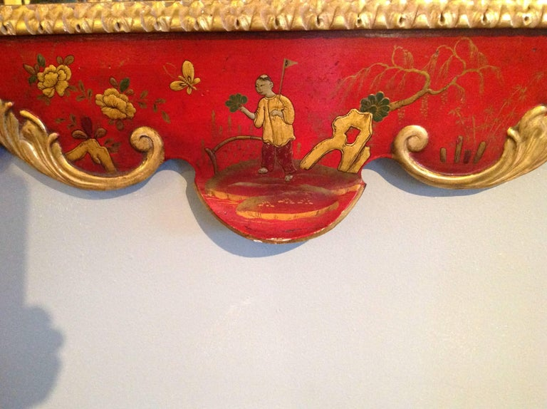 Superb Pair of 19th Century English Chinoiserie Mirrors For Sale 6