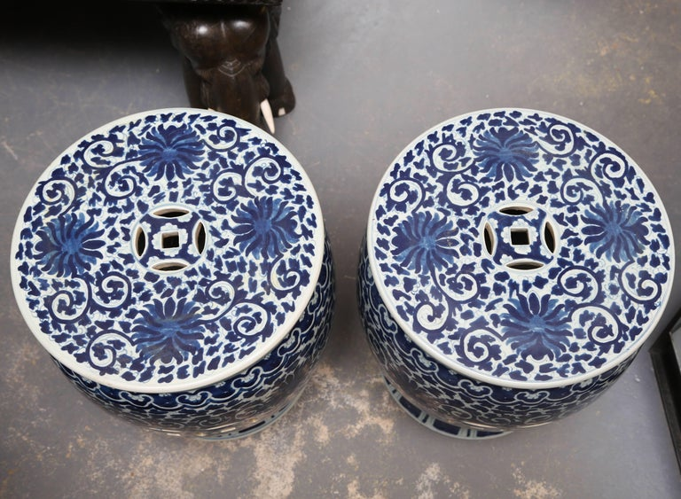 Rich blue color with pierced tops - elegant design and style.