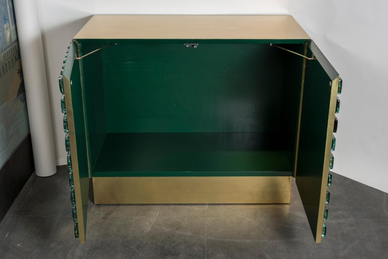 Contemporary Superb Pair of Cabinets by Studio Glustin For Sale