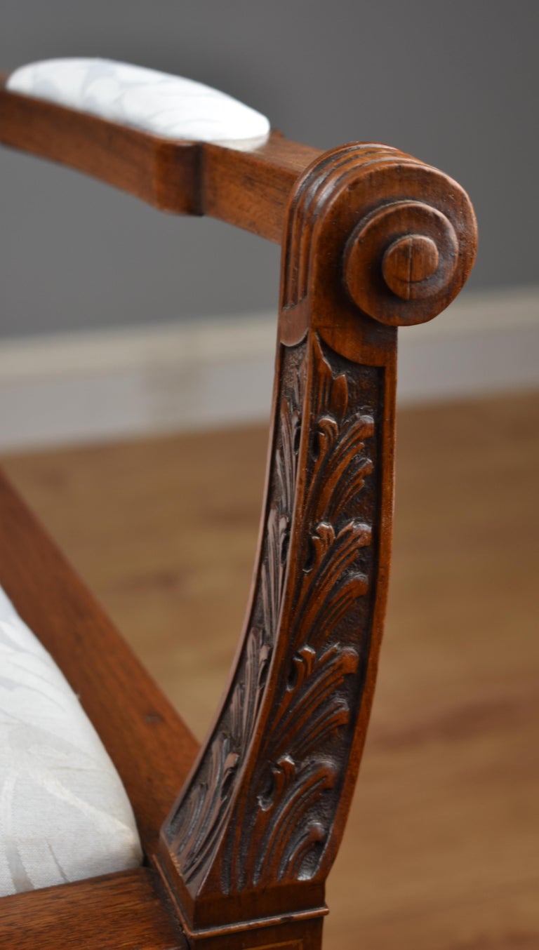 Superb Quality Victorian Mahogany Chairs For Sale 9