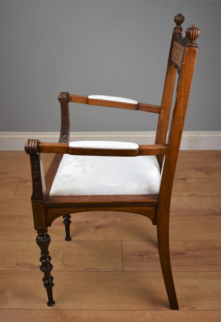 Superb Quality Victorian Mahogany Chairs For Sale 14