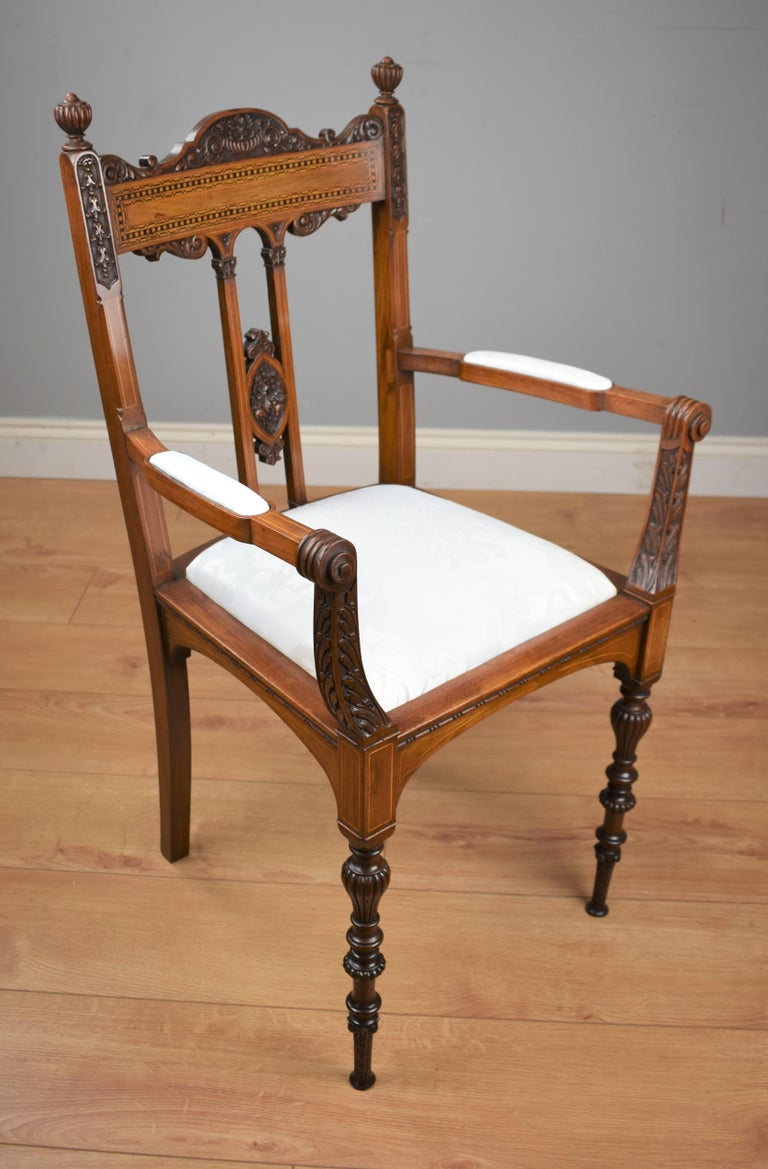 Superb Quality Victorian Mahogany Chairs For Sale 2