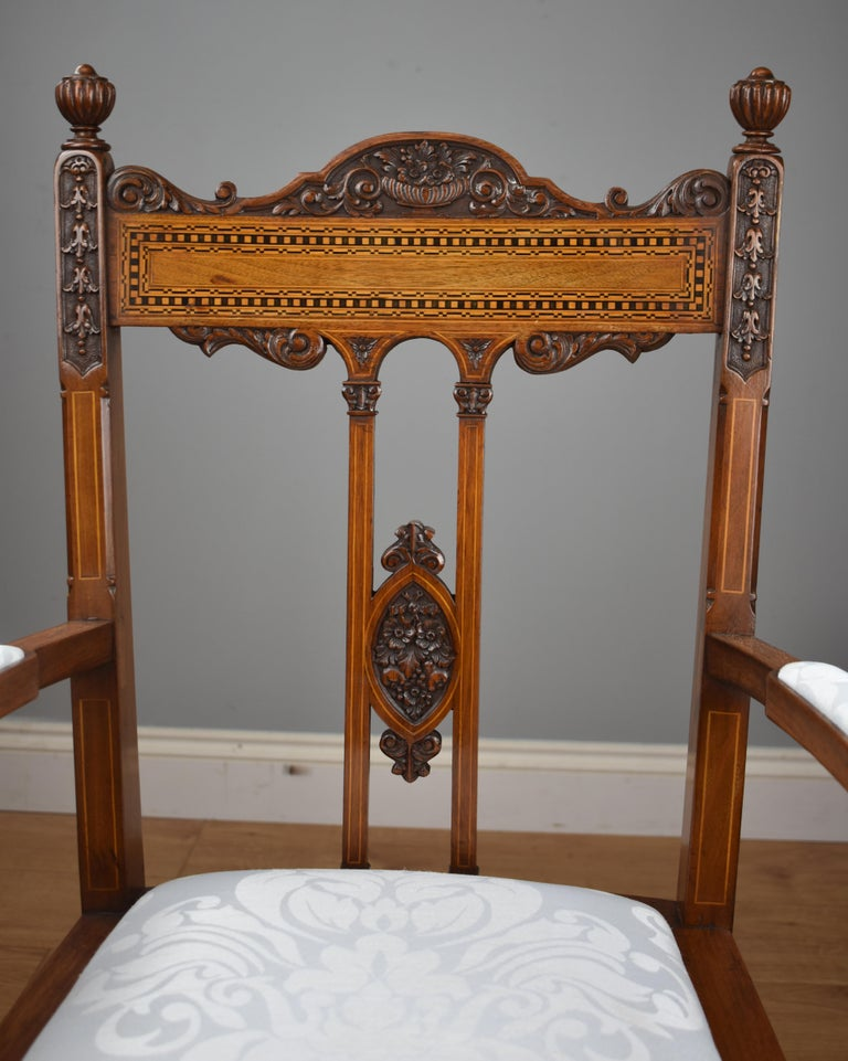 Superb Quality Victorian Mahogany Chairs For Sale 4