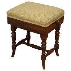 Superb Quality Victorian Stool in Rosewood
