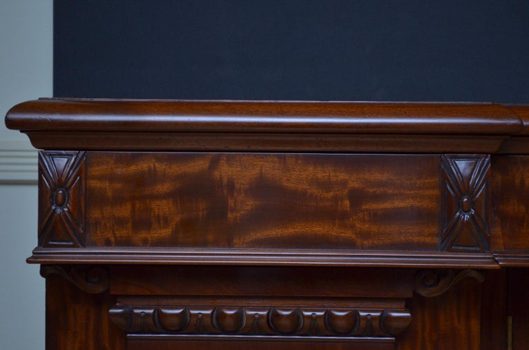 Superb Quality William IV Mahogany Sideboard For Sale 3