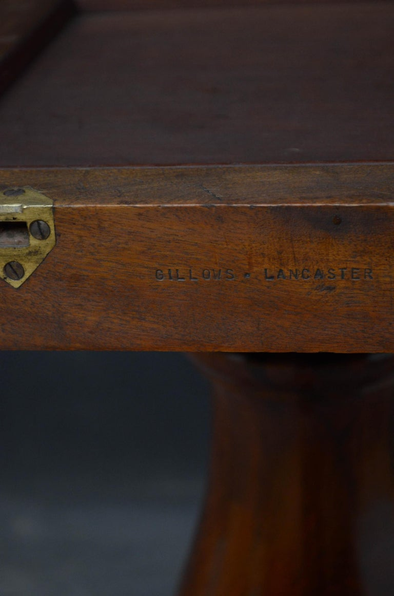 Superb Rosewood Centre Table, Stamped Gillows For Sale 6