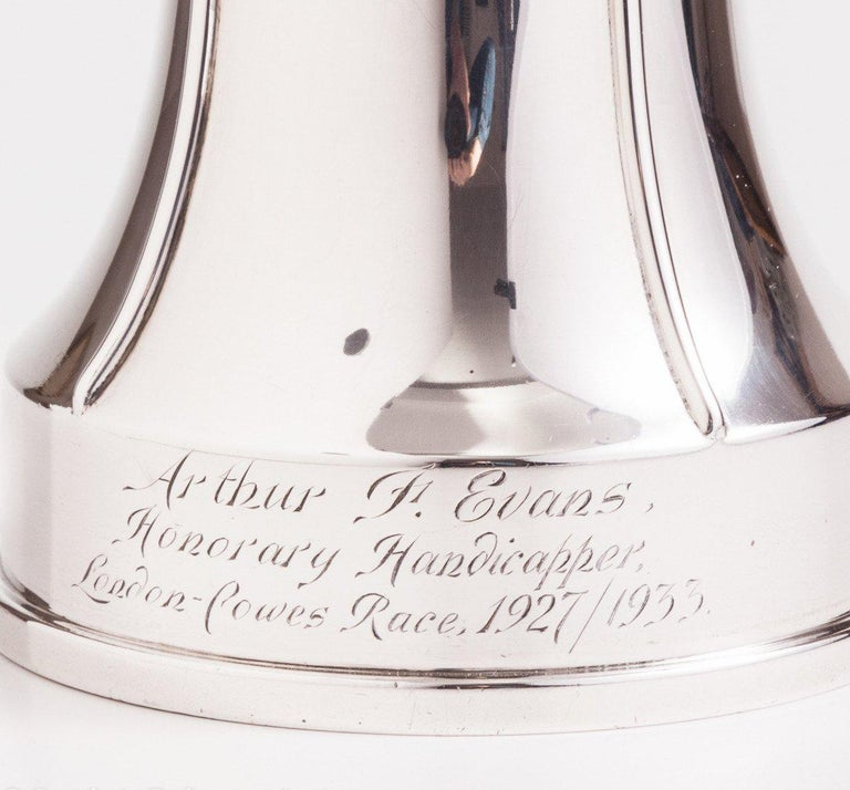 Superb Silver Tankard with a Nautical Theme, London, 1933 In Excellent Condition For Sale In London, GB