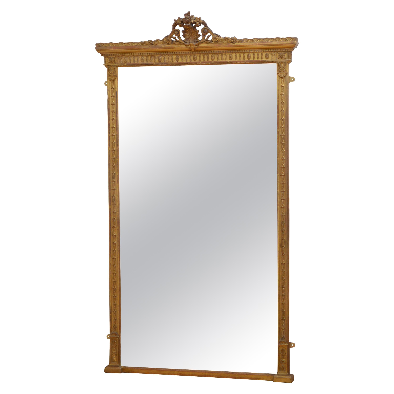 Superb Victorian Pier Mirror