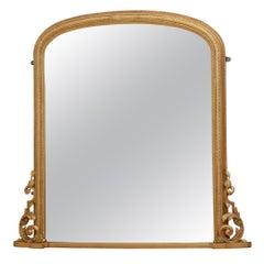 Superb Victorian Wall Mirror