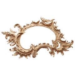 Superb Wall Mirror Custom Made Carved Wood