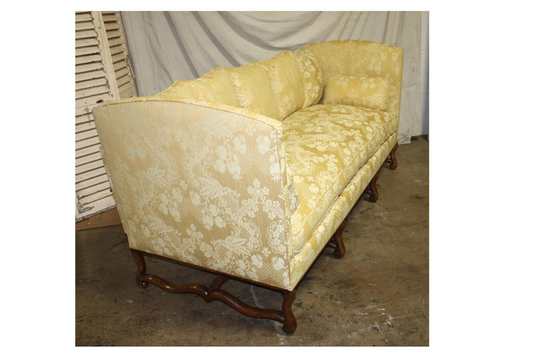Superbe French 19th Century Sofa For Sale 5