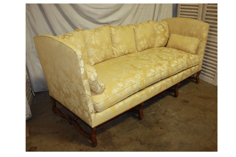 Superbe French 19th Century Sofa For Sale 6