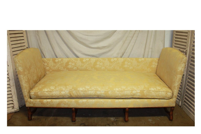 Superbe French 19th Century Sofa For Sale 8