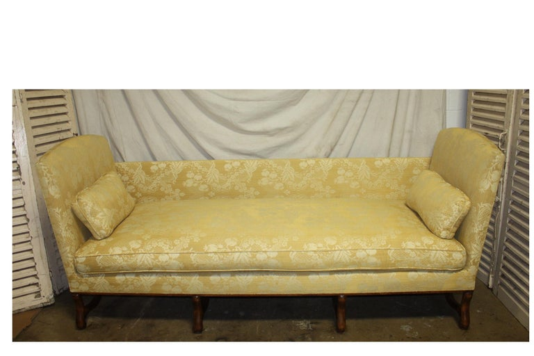 Superbe French 19th Century Sofa For Sale 9