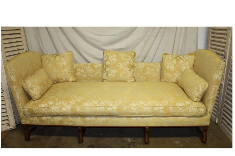 Superbe French 19th Century Sofa For Sale 11