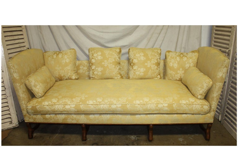 Superbe French 19th Century Sofa For Sale 12