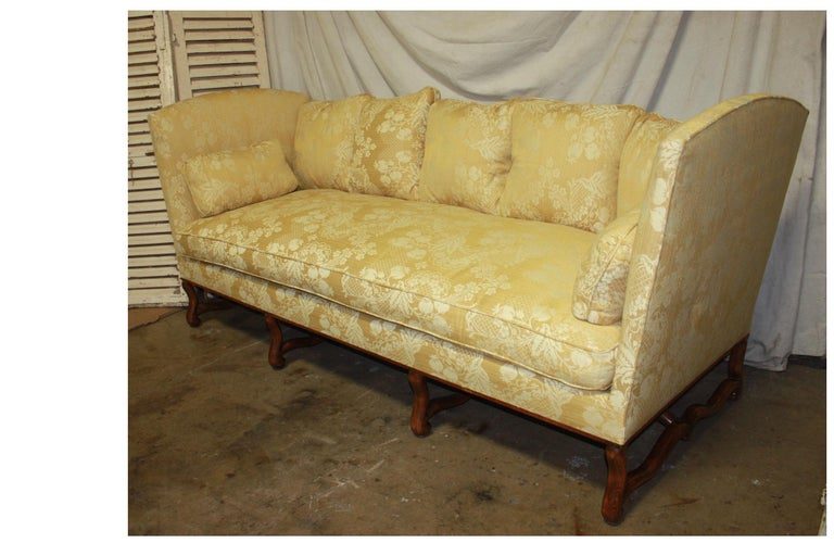 Louis XIV Superbe French 19th Century Sofa For Sale