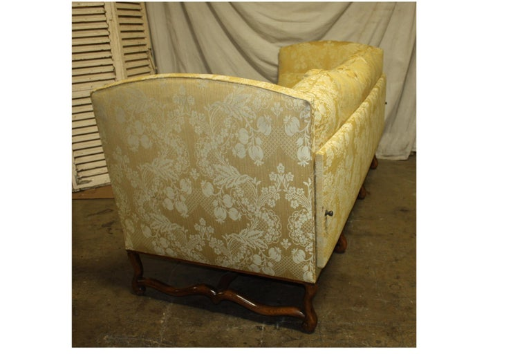 Fabric Superbe French 19th Century Sofa For Sale