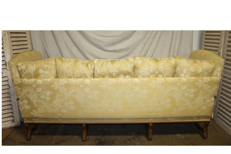 Superbe French 19th Century Sofa For Sale 1