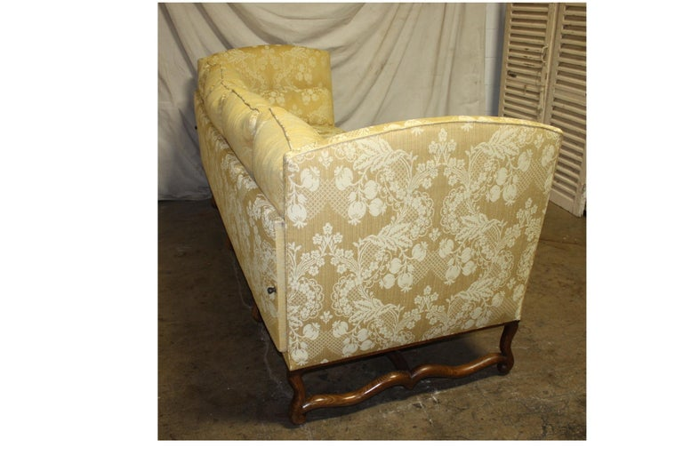 Superbe French 19th Century Sofa For Sale 2