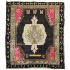 Superfluous Square Bohemian Turkish Rug