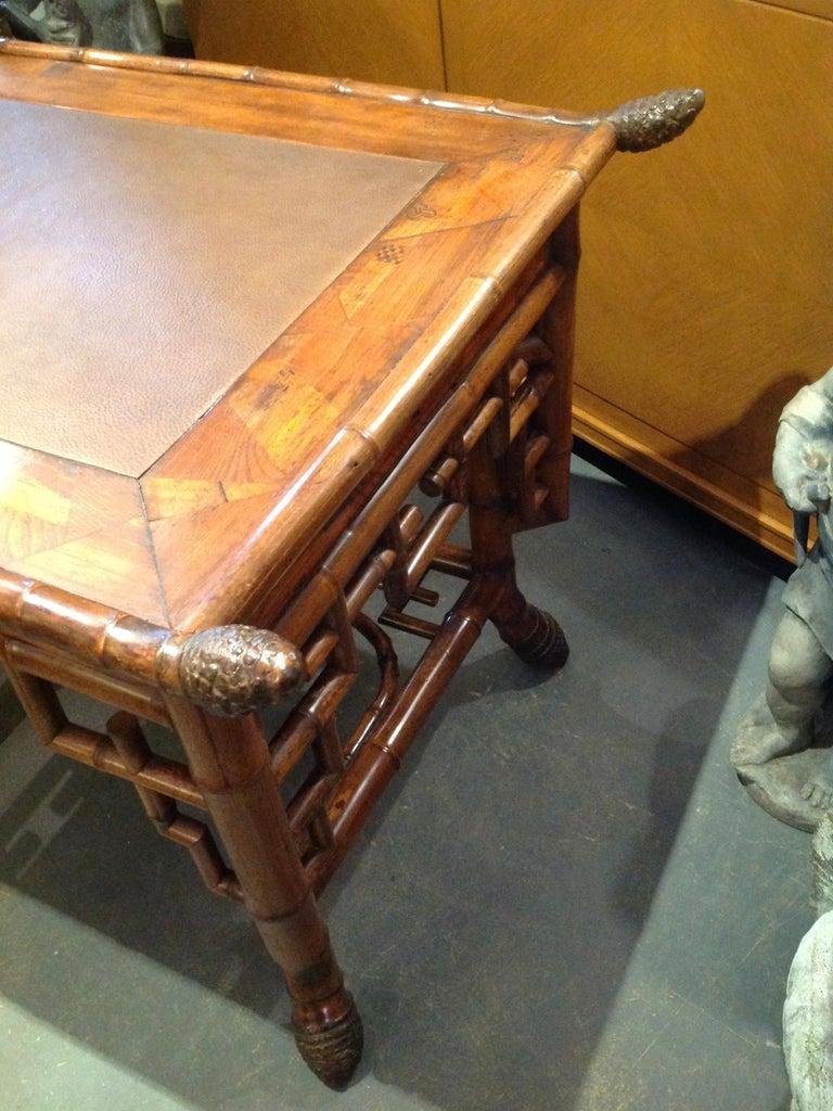 Superior 19th Century Bamboo Desk For Sale 6