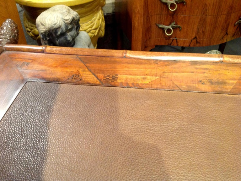 Superior 19th Century Bamboo Desk For Sale 12